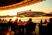 sunset alfresco dinner grand cayman islands