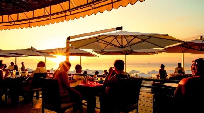 sunset alfresco dinner grand cayman islands