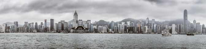 Feeling Moody – The skies over Hong Kong's skyline