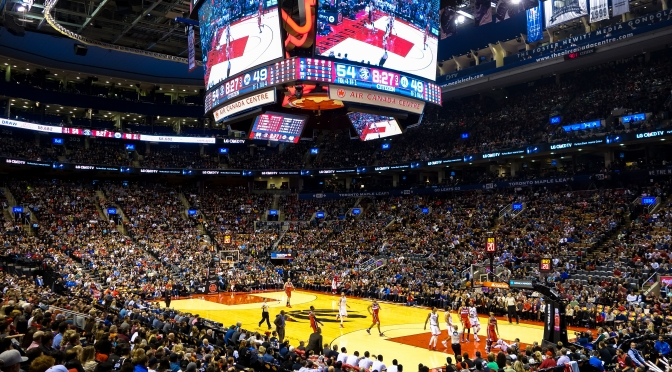 Toronto Raptors Live At The Air Canada Centre