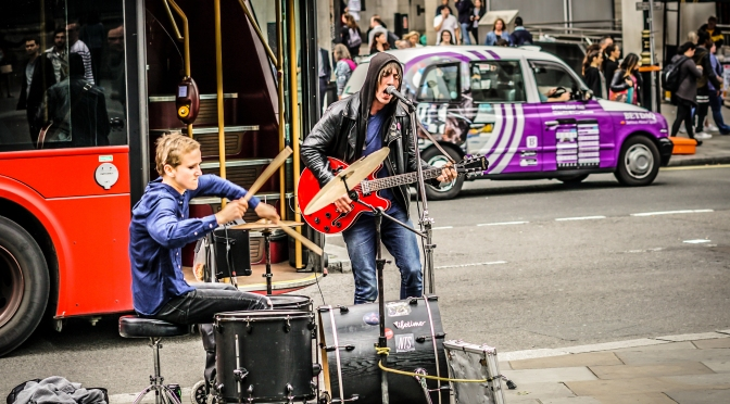 Tommy And Mary Let It Rip On Streets Of London