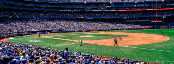 Blue Jays vs. Yankees, Bottom of 3rd, Montgomery Pitching