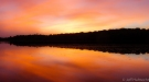 sunset conger lake massasauga provincial park petes place