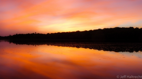 sunset conger lake massasauga provincial park petes place