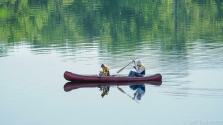 canoeing with your smartphone on canada day