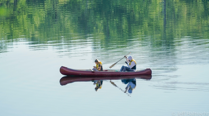 Canoeing With Your Smartphone On Canada Day… it's a good thing!