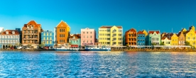willemstad capital of curacao dutch caribbean island