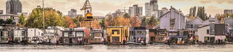 vancouver sea village houseboat homes false creek