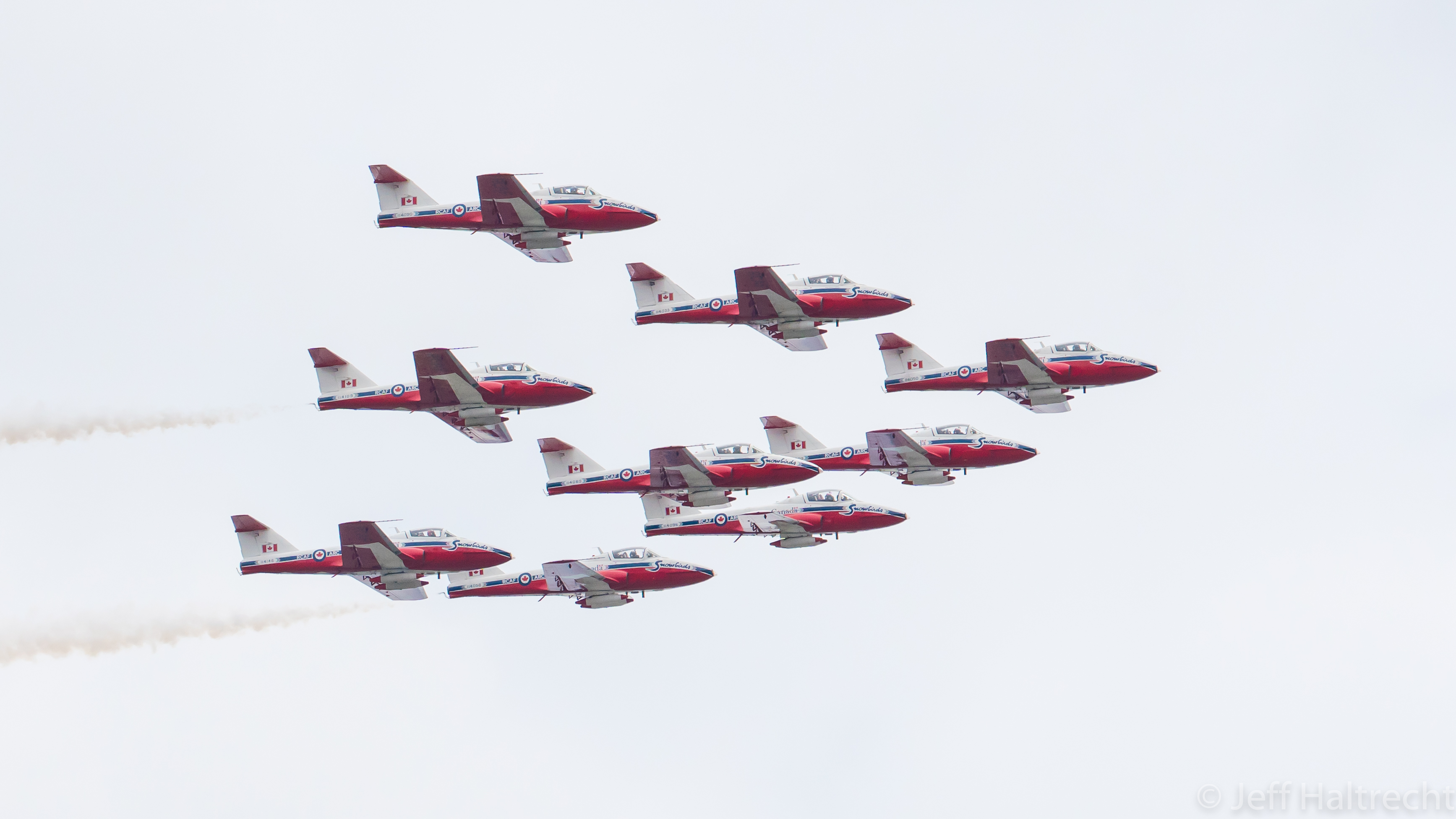 canadian forces snowbirds #operationinspiration cross canada tour
